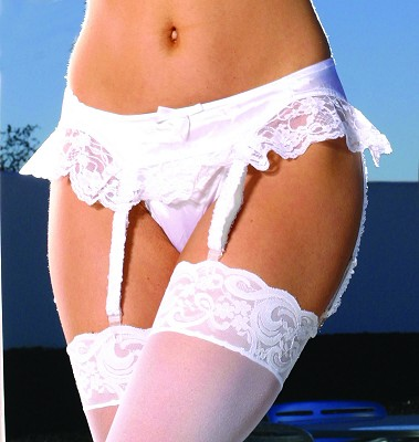 Satin Garter Belt Satin Garter Belt. One size fits most.