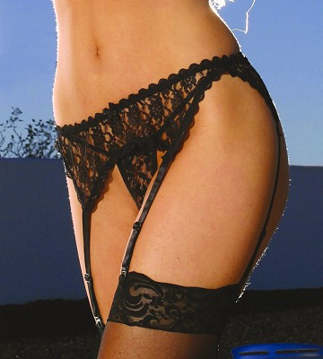 Lace Garter Belt Lace Garter Belt. Garter Belt ONLY. One size fits most.