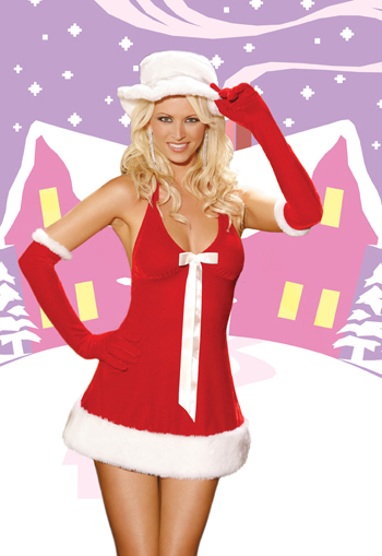 Sexy Mrs. Claus Loves to make Santa happy.