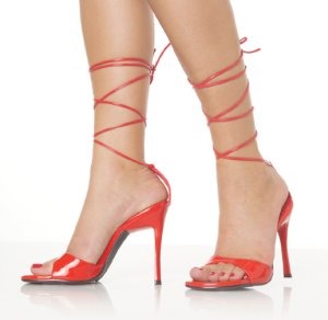 Fresh-25 Tie Shoes *NEW* NEW!! 4 inch stiletto heel shoes with top of foot strap and tie up top. Colors: black, white and red. Sizes: 5-10.
