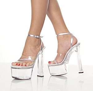Viva-612 Rhinestone Shoes *NEW* NEW!! 6 1/2