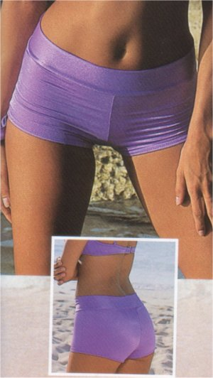 Jelly Hip Huggers Hip hugger bikini shorts with low 