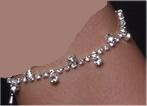 Small Stone Anklet *NEW* NEW!! Rhinestone anklet with small stones all the way around.